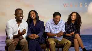 'Waves': Exclusive Interview With Sterling K. Brown, Kelvin Harrison, Jr., Taylor Russell & Renée Elise Goldsberry [Video]