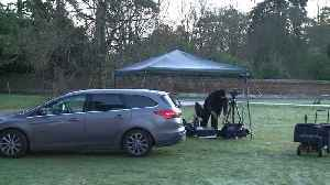 World's media gather outside Sandringham estate ahead of crisis talks [Video]