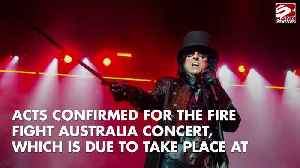 Queen, Alice Cooper and Olivia Newton-John set for Australian bushfires benefit gig [Video]