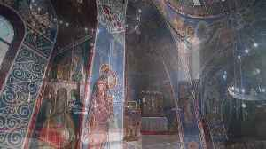 Amazing views of the first purpose built Serbian Orthodox church in the UK, which has been described as a hidden gem in the city [Video]