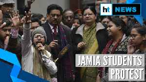 News video: Jamia students protest, seek FIR over police action; VC gives assurance