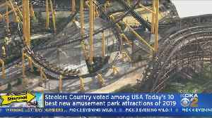 Kennywood's Steelers Country Ranks In USA Today Top 10 List [Video]
