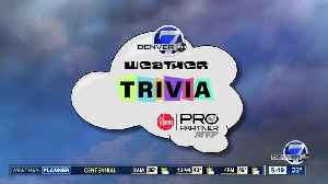 News video: Weather trivia: Mild temps for the Stock Show