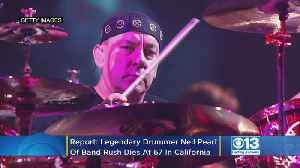 Report: Legendary Rock Drummer Neil Peart Of Band Rush Dies At 67 In California [Video]