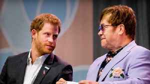 Elton John denies knowing about Prince Harry and Meghan's royal exit before The Queen [Video]