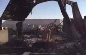 Inside the charred Iran-bombed Iraq joint base [Video]
