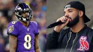 News video: Ravens Fans Blame Drake for Playoff Loss to Titans