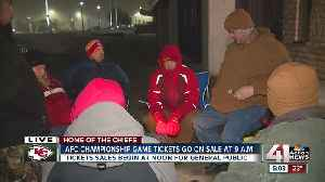 AFC Championship game tickets go on sale [Video]