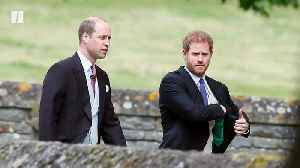 News video: Prince Harry & Prince William Release Joint Statement