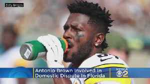 '[Expletive] The NFL, This Is Real Life,' Antonio Brown Involved In Another Domestic Dispute In Florida [Video]