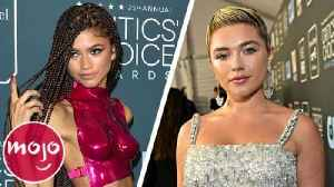 News video: Top 10 Best Looks at the Critics' Choice Awards (2020)