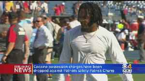 Cocaine Possession Charge Against Patrick Chung Dismess [Video]