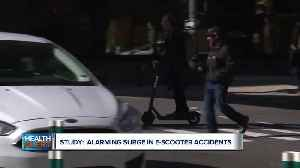 New study reports alarming surge in e-scooter accidents [Video]
