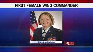 First female Georgia Air National Guard wing commander takes reins Sunday [Video]