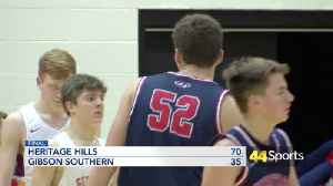 HS BB: 3rd Ranked Heritage Hills Tops Gibson Southern [Video]