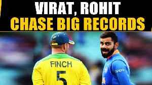 VIRAT KOHLI, ROHIT SHARMA EYE BIG RECORDS AGAINST AUSSIES | Oneindia News [Video]