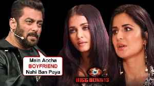 Salman Khan SHOCKING Statement On AFFAIR With Aishwarya Rai, Katrina Kaif| Bigg Boss 13 [Video]