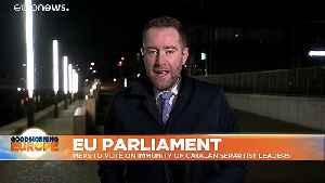 Catalan separatist leaders take up MEP seats in blow to Madrid [Video]