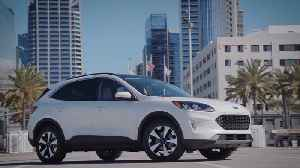 2020 Ford Escape Hybrid and Plug-In Hybrid Preview [Video]