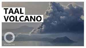 Philippines Taal volcano could be about ready to blow [Video]