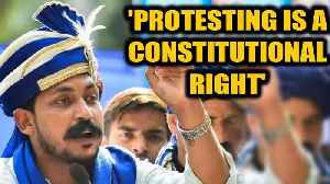 News video: Chandrashekhar bail plea hearing: Judge says protests are a constitutional right| OneIndia News
