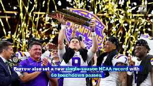 LSU and Joe Burrow Complete Historic Season With National Championship [Video]