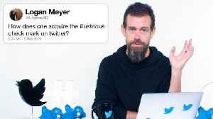 Twitter's Jack Dorsey Answers Twitter Questions From Twitter [Video]