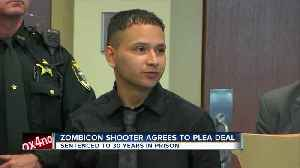 Accused 'Zombicon' shooter is sentenced following plea deal [Video]