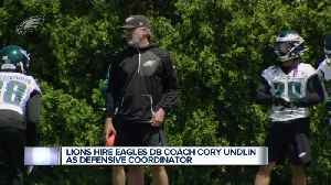 Lions hire Eagles DB coach Cory Undlin as defensive coordinator [Video]