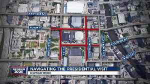 Road closures planned Tuesday night due to President Trump visit, Bucks game [Video]