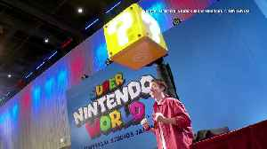 Super Nintendo World theme park to open in Japan [Video]