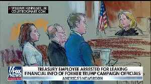 Treasury official arrested for leaking Trump campaign docs [Video]