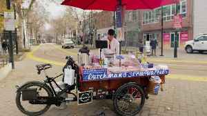 Sacramento's first food bike peddles 200-year-old cookie recipe [Video]