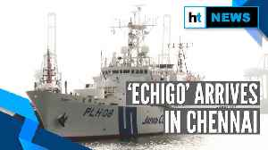 India-Japan joint exercise: Japanese vessel 'Echigo' arrives in Chennai [Video]