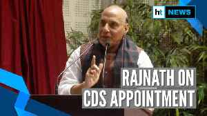 India is safe because of Army: Rajnath lauds PM Modi for CDS appointment [Video]