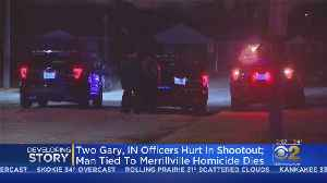 Police To Update After 2 Gary Police Officers Wounded In Shooting After Standoff, Suspect Shot Dead [Video]