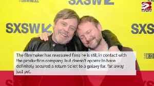 Rian Johnson 'still talking' to Lucasfilm about Star Wars [Video]