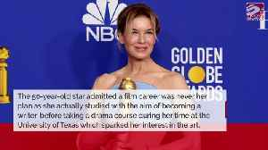 Renee Zellweger: Acting career is 'failure' at becoming a writer [Video]