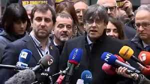 Catalan MEPs take their seats in Strasbourg [Video]
