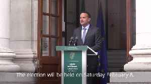 Leo Varadkar announces February election in Ireland [Video]
