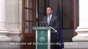 Leo Varadkar announces February election in Ireland [Video]