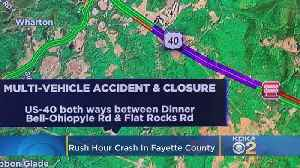 Fayette Co. Coroner's Office Called To Multi-Vehicle Crash In Henry Clay Twp. [Video]