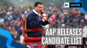 Delhi Elections 2020: AAP releases list of candidates, 15 sitting MLAs replaced [Video]