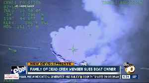 Family of dead crew member aboard Catalina-bound vessel sues boat owner [Video]
