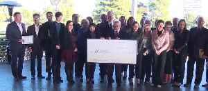 Generous donations to local nonprofits [Video]