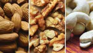 Almonds, Cashews and Other Nuts Have 15-25% Fewer Calories Than We Thought [Video]