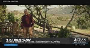 'Star Trek: Picard' Premieres in Hollywood [Video]