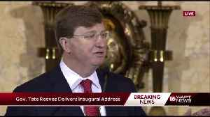 Gov. Tate Reeves speaks at inauguration [Video]