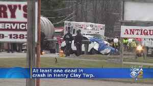 At Least 1 Killed In Henry Clay Twp. Crash [Video]