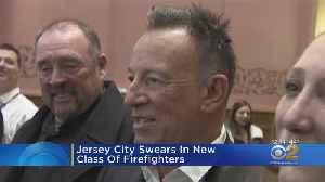 Jersey City Swears In New Class Of Firefighters [Video]